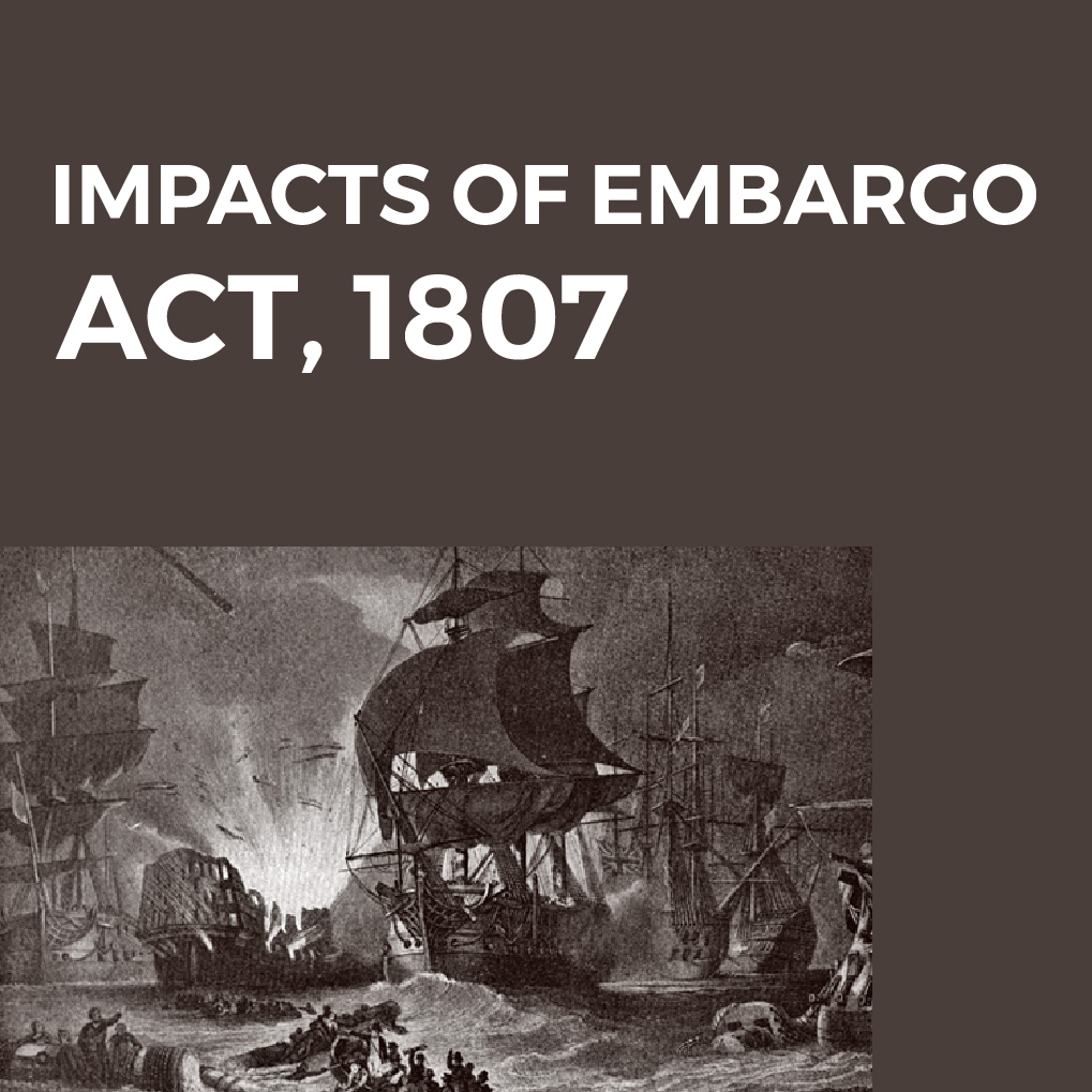 What Was The Embargo Act